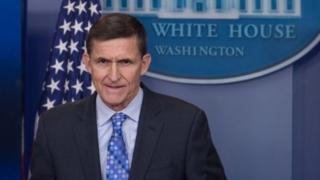 Michael Flynn yirukanwe ku kazi kubera kubeshya perezida Trump