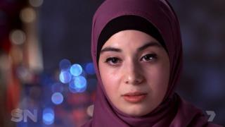 Sydney medical student Zeynab Alshelh wanted to show solidarity with Muslim women in France