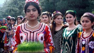 جشن نوروز در منطقه کولاب تاجیکستان