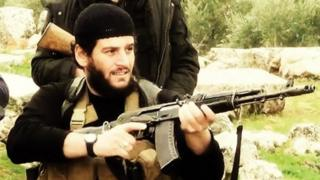 Shaykh Abu Muhammad al-Adnani (sourced from Islamic State English-language magazine Dabiq)