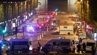 Стрельба в Париже