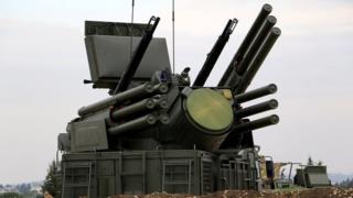 Російська система протиповітряної оборони Панцирь-С1