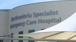 Northumbria Specialist Emergency Care Hospital, in Cramlington