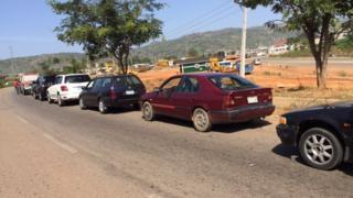 Nigeria fuel queues