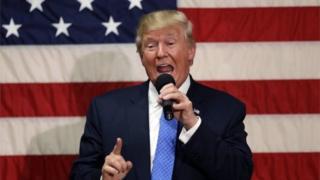 Trump aflagaadeeyay dumar