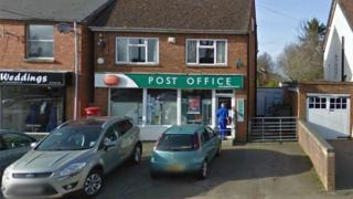 The post office in Easington was raided on Saturday