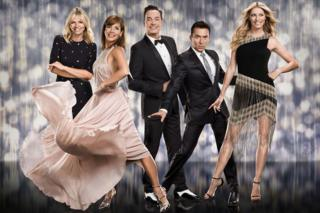 Zoe Ball, Darcey Bussell, Craig Revel Horwood, Bruno Tonioli and Tess Daly