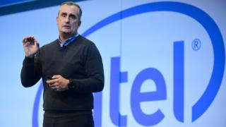 Brian Krzanich, CEO of Intel