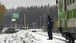 Scene of crash near Raseborg/Raasepori
