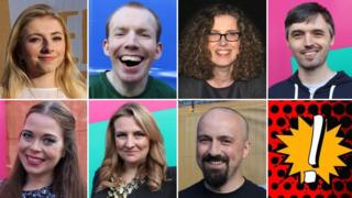 The seven BBC Ouch storytellers for Tales of the Misunderstood