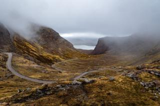On the road to Applecross, Anthony Morris says this was taken at about 1,700ft above sea level.