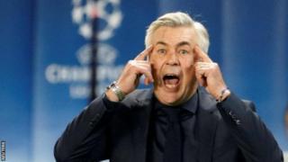 Ancelotti ntiyashoboye kugeza ku ntsinzi Bayern ku munsi wa gatatu bahura na PSG