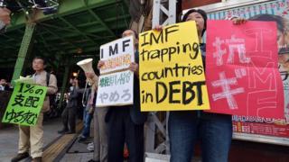 Protesta anti FMI