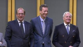 Mark Reckless, Nathan Gill and Neil Hamilton