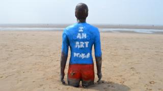Antony Gormley - Another Place