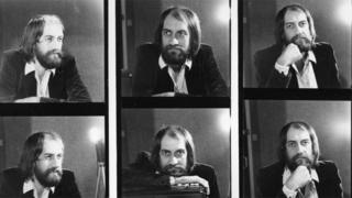 Mick Fleetwood backstage at Top of the Pops in 1969