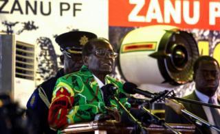 President Robert Mugabe addresses Zanu-PF annual conference in Masvingo on Saturday, 17 December 2016