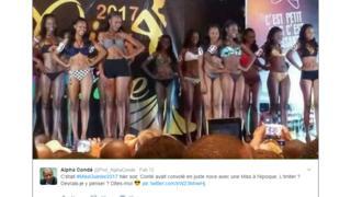 Warembo waliojipanga na bikini
