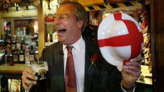 Roedd Nigel Farage yn ffigwr amlwg yn yr ymgyrch i adael yr Undeb Ewropeaidd