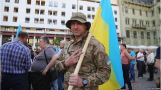 Проукраїнський мітинг