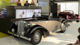 The Daimler DB18 Drophead Coupe used by Churchill