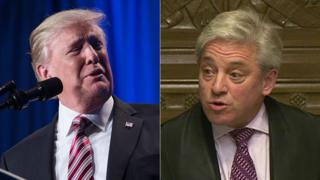 Trump and Bercow