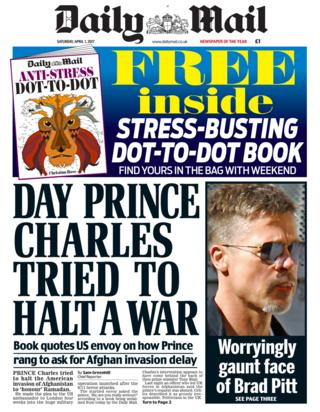 Newspaper headlines: EU's Gibraltar 'ambush' and Prince ...