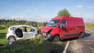 A96 crash