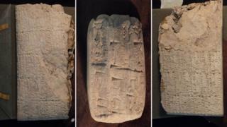 Mixi yazısı həkk olunmuş qədim daş lövhələr