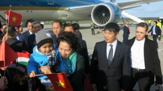 Chủ tịch Quốc hội Việt Nam Nguyễn Thị Kim Ngân