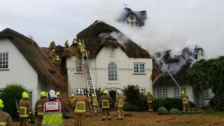 Fire at Codicote