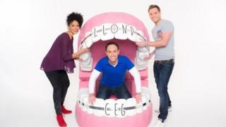 Llond Ceg: Kizzy Crawford, Aled Haydn Jones a Geraint Hardy