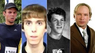 Andreas Lubitz, Adam Lanza, Dylan Klebold, Anders Breivik