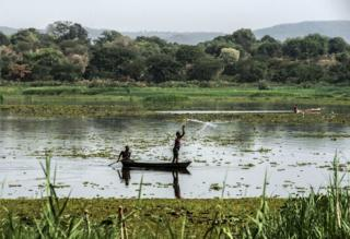 Upande wa juu wa White Nile, Uganda