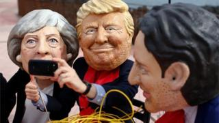 İngiliz yardım kuruşulu Oxfam Sicilya'da G7 liderlerini 'açlığa' sebebiyet vermekle suçladıkları bir protesto düzenledi.