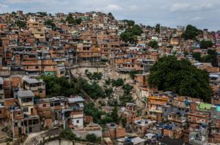 Favela' Mangueira community, North Zone, Rio de Janeiro, Brazil