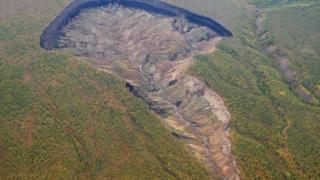 кратер Батагайка