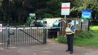 Victoria Park attack Leicester
