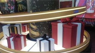 圣诞节对台湾的百货和零售业者而言是一个重要的日子。