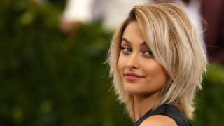 Paris Jackson recently attended the Metropolitan Museum of Art's annual Met Gala in New York City - she is picture turning her head to the camera