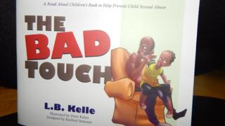 Cover of Lillian Butele Kelle's book, The Bad Touch.