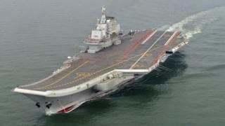 中國航母遼寧號