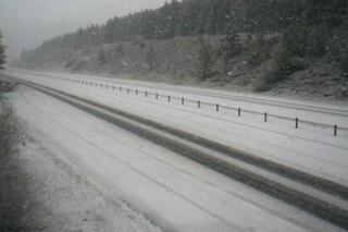 Snow at the Slochd