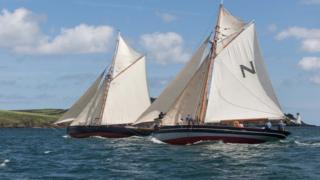 Pilot cutter vessels Olga and Alpha