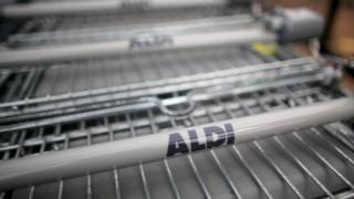 Aldi trolleys