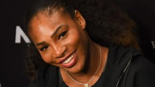 Mchezaji wa tenisi Serena Williams