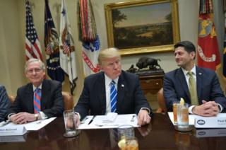 McConnell, Trump and Ryan