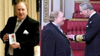Mr Chapman with Prince Charles