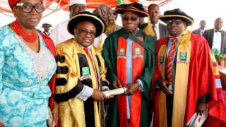 Olusegun Obasanjo da Farfesa Abdallah