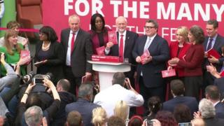Labour manifesto launch